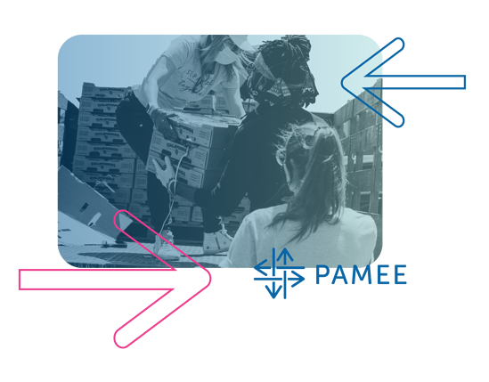 PAMEE with services coming together to help people