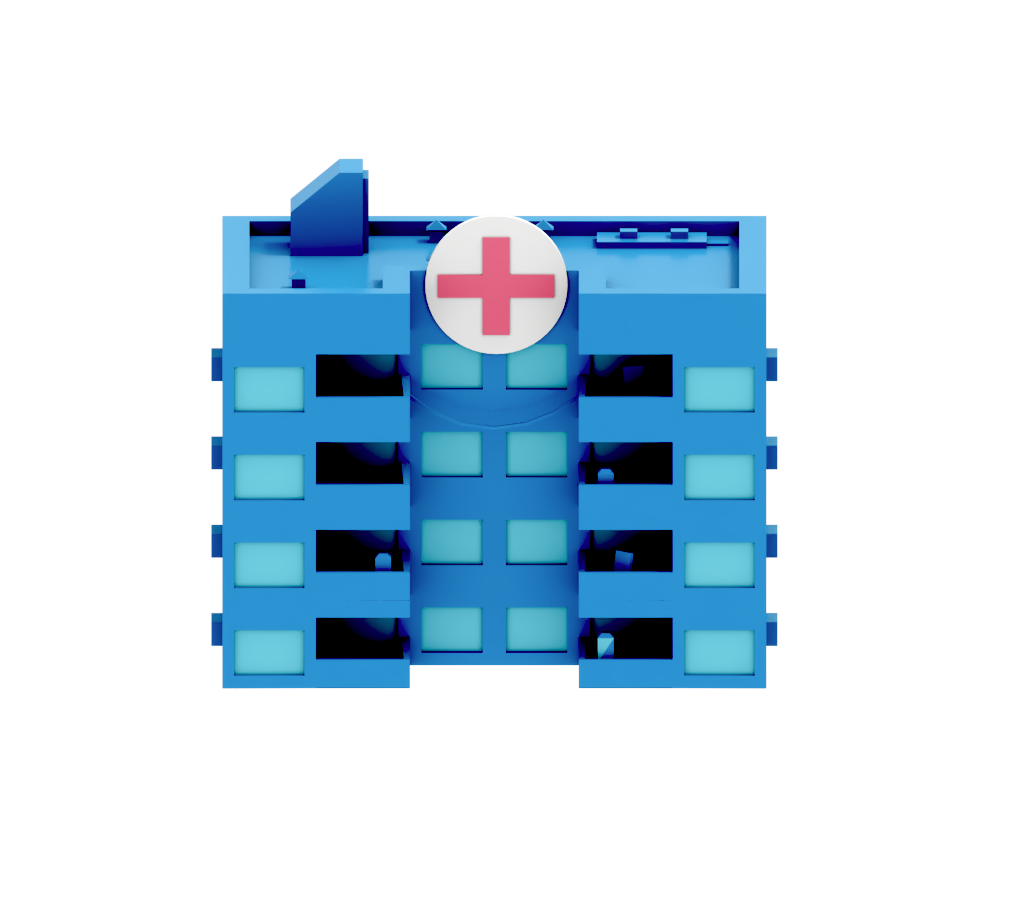 variety of medical and public serivce accounts like hospitals, VA, and others.
